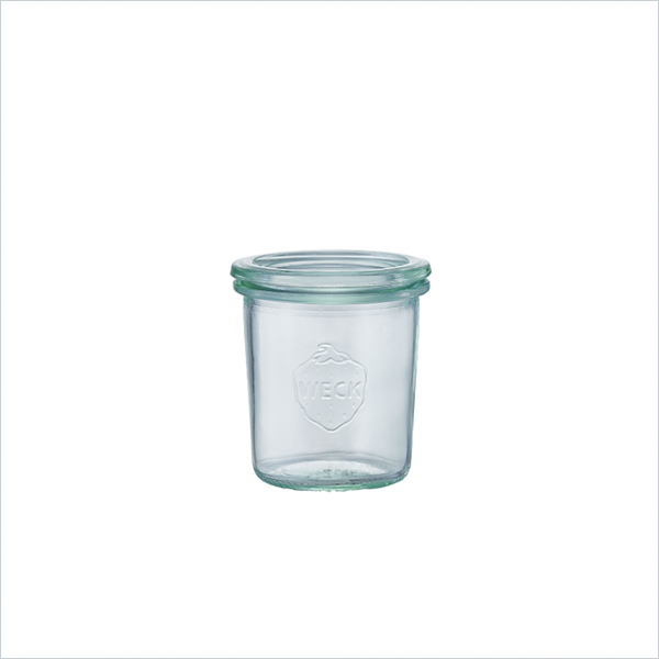 weck WECK ウェック キャニスター ガラス モールド シェイプ 120 ml WE-761 保存 容器 保存容器 耐熱ガラス 密閉 保存瓶 おしゃれ キッチン収納 かわいい