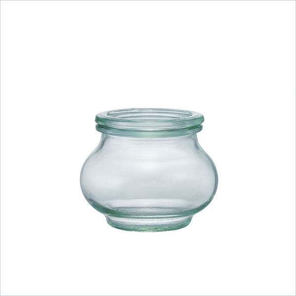 weck WECK ウェック キャニスター ガラス デコシェイプ 200 ml WE-902 保存 容器 保存容器 耐熱ガラス 密閉 保存瓶 おしゃれ キッチン収納 かわいい 小物入れ