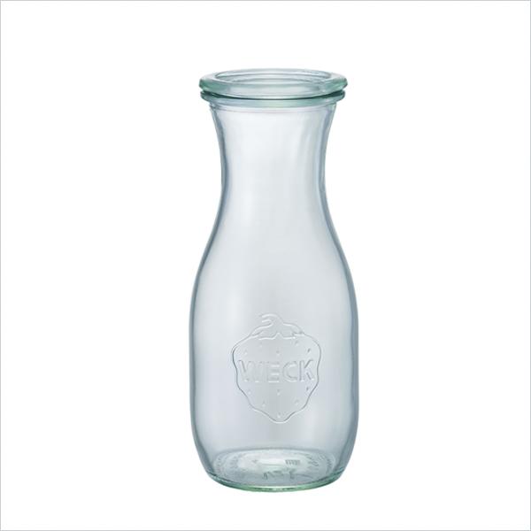 weck WECK ウェック キャニスター ガラス ジュースジャー 500 ml WE-764 保存 容器 保存容器 耐熱ガラス 密閉 保存瓶 おしゃれ キッチン収納 かわいい 小物入れ