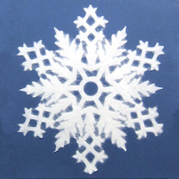 インテリア雑貨 おしゃれ スノー フレーク SNOW FLAKE Lサイズ 205 Tokyo メール便 対応 家田紙工 v20-005 デコレーション 雪 結晶 和紙 窓 インテリア