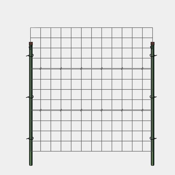 ツル性 植物 用 フェンス カラマリーナ VG-G グリーンパネル 誘引パネル フェンス トレリス アイアン