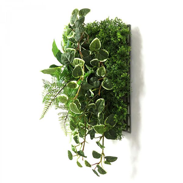 フェイクグリーン 壁掛け 観葉植物 造花 プミラ シダファーン グリーンマットウォールグリーン おしゃれ 人口植物 グリーン PRGR-1312 GREENPARK グリーンパーク
