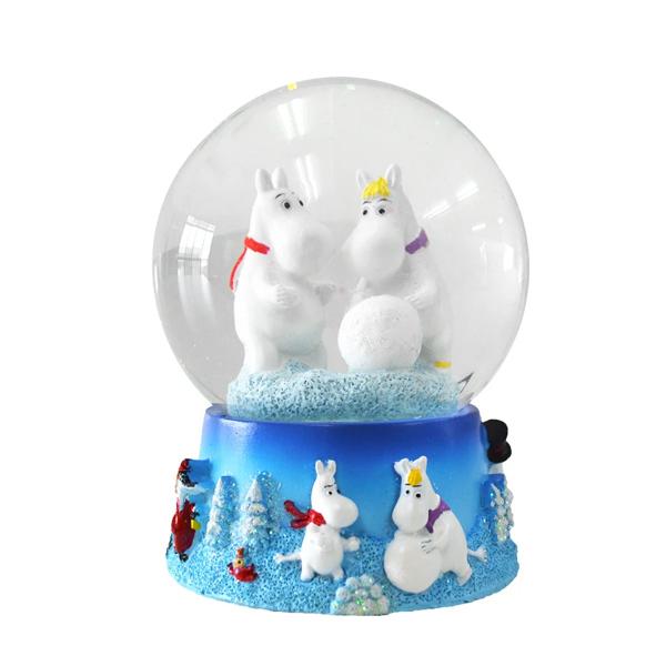ムーミン スノードーム 大 クリスマス スノーグローブ グッズ フローレン 15cm Snow Globe クール 北欧 フィンランド Moomin TMF ティーエムエフ TMF100172