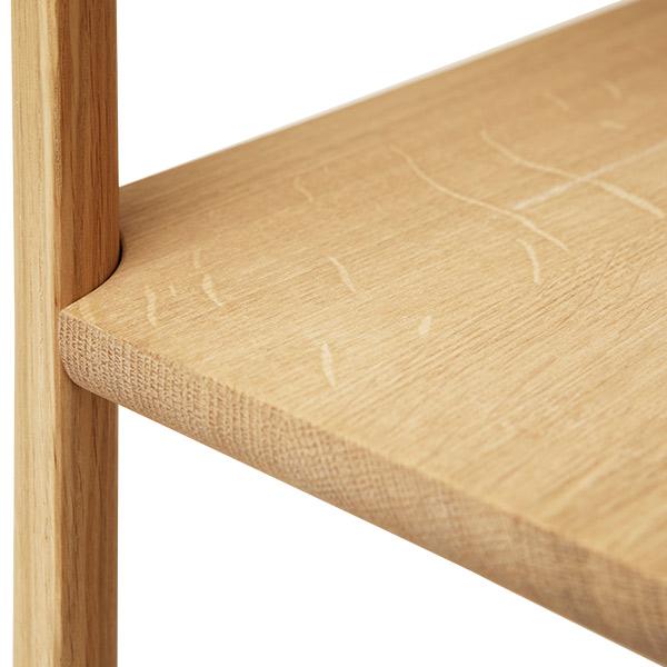 Form&Refine フォーム リファイン リーフ シェルフ ホワイト オーク | 棚 ナチュラル シンプル 北欧 無垢 ブランド 木製 高級