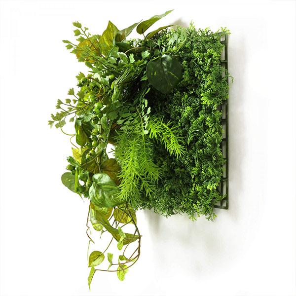 フェイクグリーン 壁掛け 観葉植物 造花 ポトス ベリー グリーンマット ウォールグリーン おしゃれ 人口植物 グリーン 植物 PRGR-1316 GREENPARK グリーンパーク