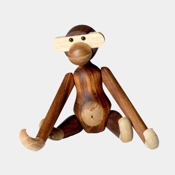 カイ ボイスン デンマーク モンキー S 北欧 MONKEY KAY BOJESEN DENMARK サル 木製 おしゃれ オブジェ インテリア アニマル 動物