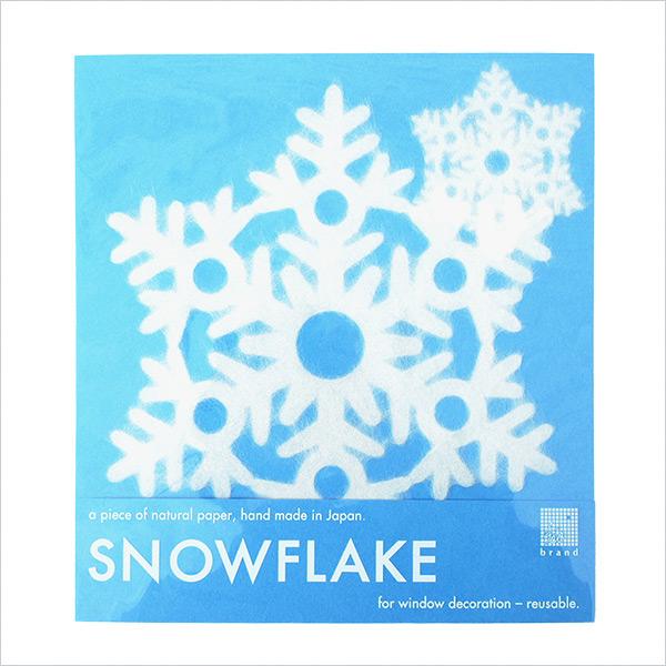 インテリア雑貨 おしゃれ スノー フレーク SNOW FLAKE Lサイズ 207 Gifu メール便 対応 家田紙工 v20-007 デコレーション 雪 結晶 和紙 窓 インテリア