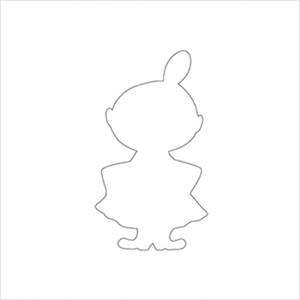 ムーミン ミィ リトルミィ クッキー 型 グッズ キャラクター おしゃれ MOOMIN ムーミン谷の仲間たち メール便 対応 Martinex マルティネックス リトルミィ