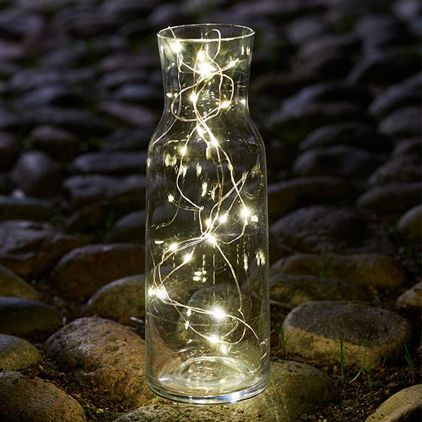 LED ストリングス ライト フェアリー 1.9m ロング チェーン 電飾 シルバー ゴールド 北欧 シンプル おしゃれ SIRIUS Fairy Lights Knirke