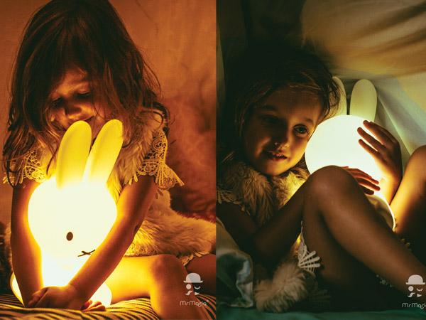 ミッフィー ライト 大小 ペアセット 誕生65周年 ボリス ライオン LED 卓上ライト ナイトライト ギフト ファーストライト MM-007 バンドルオブライト MM-009