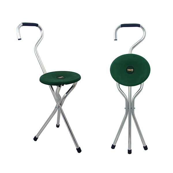 杖 になる 椅子 三脚 リンデンレジャー 軽量 800g 座れる つえ ステッキ チェア 折りたたみ イギリス製 おしゃれ Linden Leisure T040