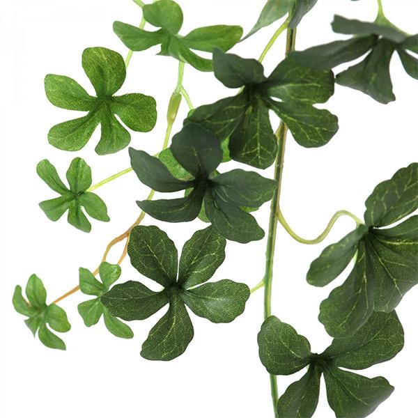 フェイクグリーン 壁掛け 観葉植物 造花 大型 プミラ シュガーバイン ホワイトフレーム グリーン ロング おしゃれ 植物 PRGR-1309 GREENPARK グリーンパーク