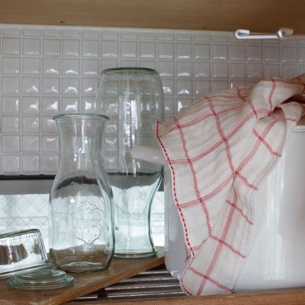 ジュースジャー 1000 ml WE 766 フタSサイズ JUICE JAR WECK ウェック キャニスター 保存 容器 耐熱 ガラス 密閉 保存瓶