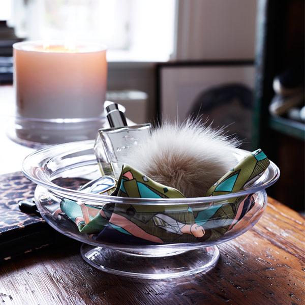 ホルムガード フラワーボウル φ19cm フラワー ベース HOLMEGAARD 4343800 花瓶 北欧 ガラス おしゃれ インテリア オールドイングリッシュ