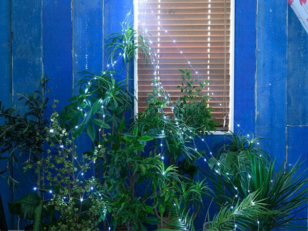 LED ライト イルミネーション 2m 3m 2.1W 電球 屋外 ブルー ガーランド インテリア 飾付 照明 Sparkler Hook cool frash アナザー ガーデン AOL-656 AOL-657