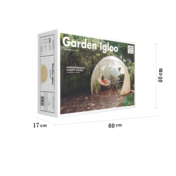 ガーデンイグルー 専用 キャノピーカバー 日よけ 蚊よけ カバー 屋外 蚊帳 サンルーム ドーム型 テント ガーデン ドーム garden igloo