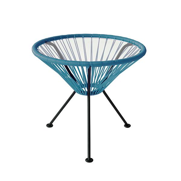 アカプルコ サイド テーブル 正規品 幅50cm 高さ45.5cm カラー 丸型 ガーデン アウトドア 白 黄 グレー おしゃれ Acapulco Side Table