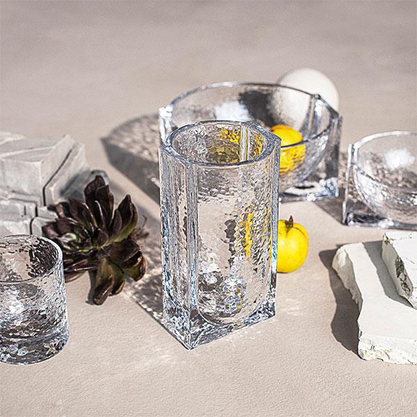 ホルムガード フラワー ベース 花瓶 北欧 クリア H20cm FORMA フォーマ ブランド ガラス おしゃれ インテリア 玄関 リビング シンプル ギフト プレゼント 透明