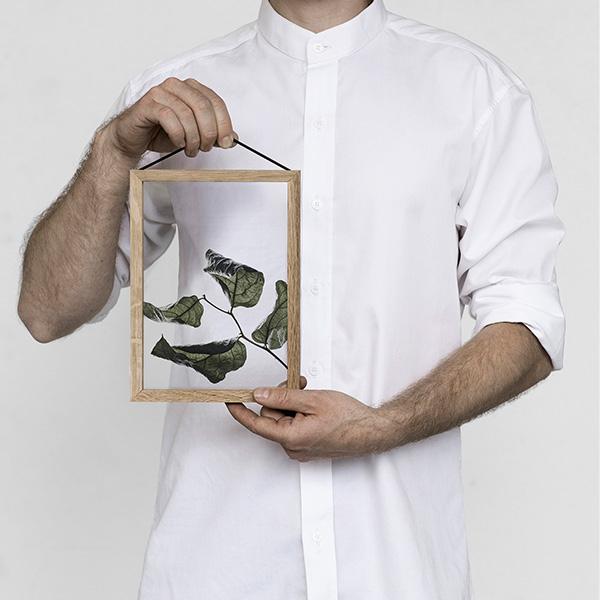 ペーパーコレクティブ Floating Leaves 01 A5 クリア ポスター メール便 対応 Paper Collective 8113 透明 葉 北欧 おしゃれ