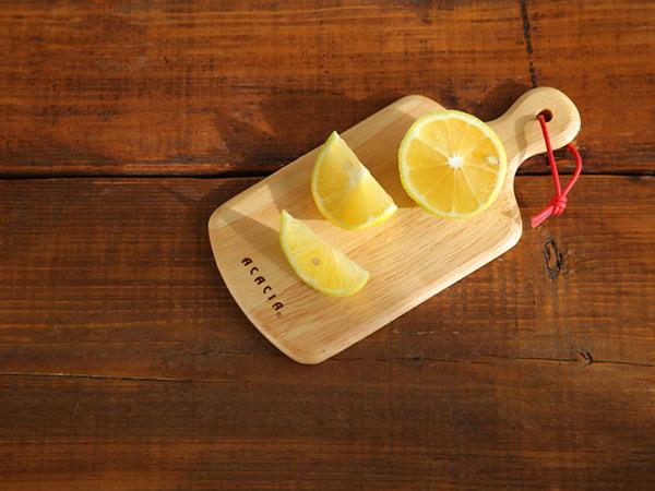 ラウンディッシュ ボード SS 20×10cm メール便対応 アカシア ミニ 木製 カッティングボード おしゃれ まな板 ラバー材 ゴムの木 コンパクト 小さい かわいい