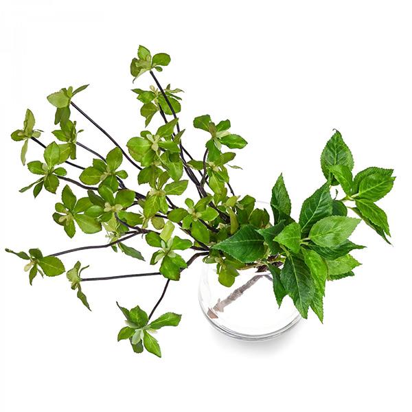 フェイクグリーン ブロッサムリーフ ドウダンツツジ 卓上 造花 観葉植物 テーブルグリーン ウォータートラペゾイド インテリア おしゃれ PRGR-1028 人気 植物