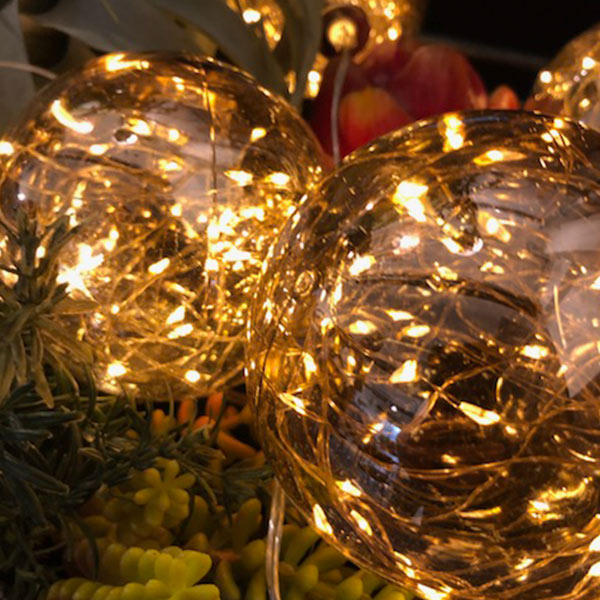 LED ライト ボール 5m 2.1W 電球 おしゃれ ガーランド デコレーション 北欧 インテリア 飾付 照明 コンセント Amazing Ball light アナザー ガーデン AOL-621