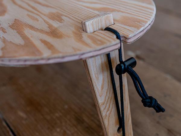 トライポッド テーブル ソロ YOKA ヨカ 折りたたみ 小型 軽量 ミニ アウトドア キャンプ ウッド 木製 国産 シンプル ポータブル コンパクト