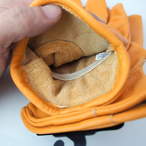 キンコ グローブ 水牛 革 手袋 メール便対応 81M 81L Kinco Gloves バッファロー レザー ワーク 作業 メンズ バイク 自転車 アウトドア