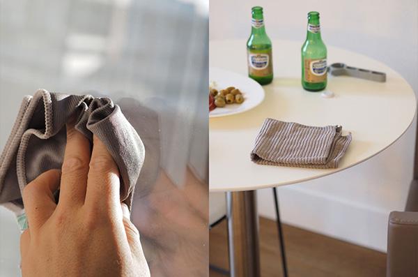 マイクロファイバー クロスセット 4種 セット MICROFIBER CLOTH SET SMART スマート社 SM-004 ふきん 掃除 ほこり取り キッチン 窓ガラス