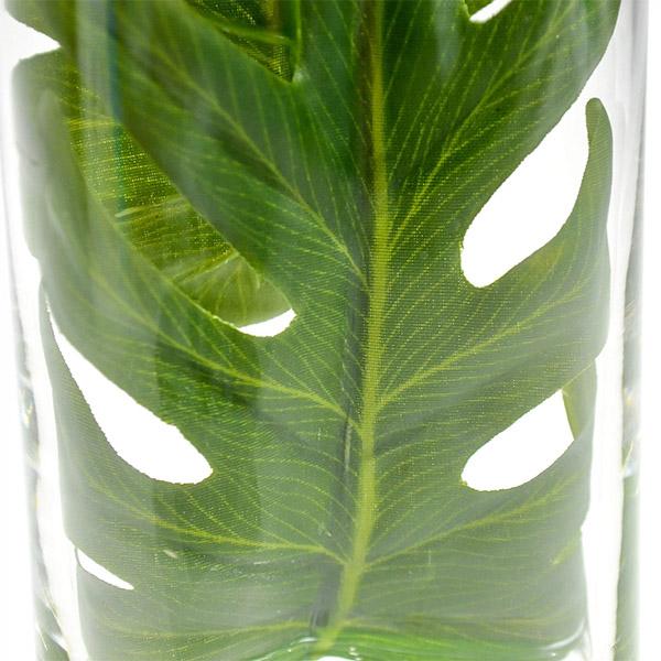 フェイクグリーン クッカバラ ウォーターシリンダー 卓上 造花 観葉植物 テーブルグリーン GREENPARK グリーンパーク PRGR-1136 人気 人工 植物 アレンジメント
