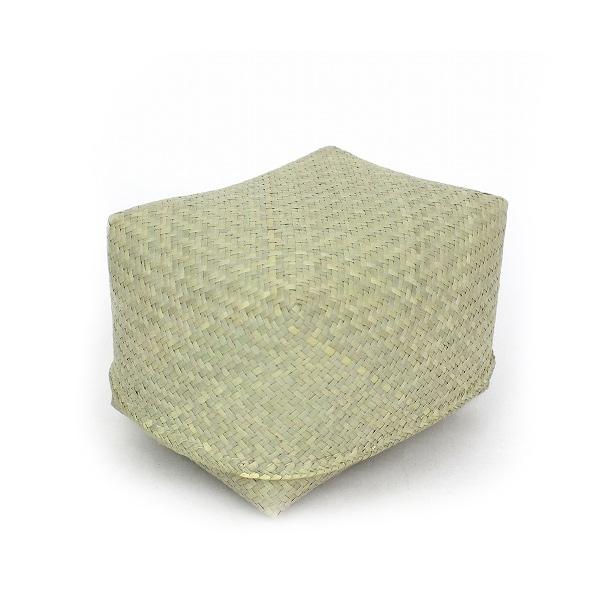 小物入れ カゴ 収納 フルナ すっぽり箱 長方形 中 おしゃれ ナチュラル 四角 アフリカンスクエア バスケット マダガスカル ラフィア フタ付き ボックス KD13113B