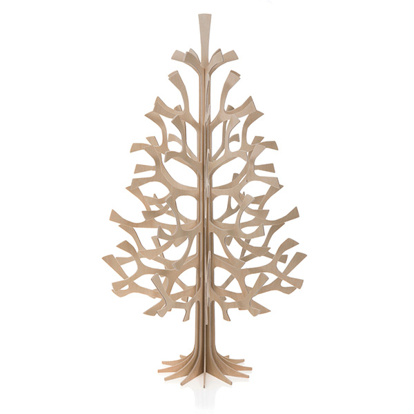 lovi モミの木 50cm momi-no-ki クリスマスツリー シンプル 北欧 木製 ナチュラル グレー