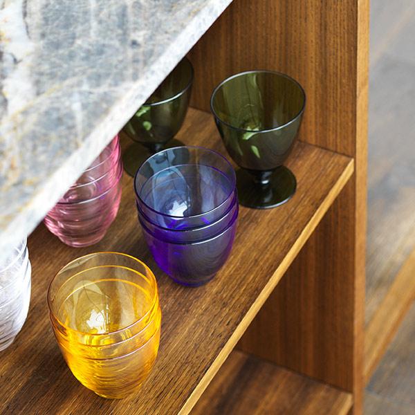 FLOW グラス  350ml ホルムガード 脚付き コップ おしゃれ 吹きガラス ギフト プレゼント 高級 来客用 北欧 冷茶 丸い 父の日 フロー HOLMEGAARD