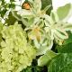 造花 スワッグ フェイクグリーン グリーンスワッグL 玄関飾り アレンジメント スノーボール ハツユキソウ ナチュラル 人口 観葉植物 PRGR-1158 GREENPARK 人気