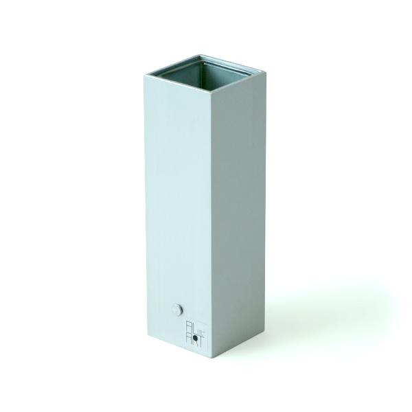 フラワーベース 花瓶 TSUMIKI つみき Mサイズ シルバー ALART アルアート IZTM-2S 花器 日本製 シンプル おしゃれ アルミ ガラス 銀 silver