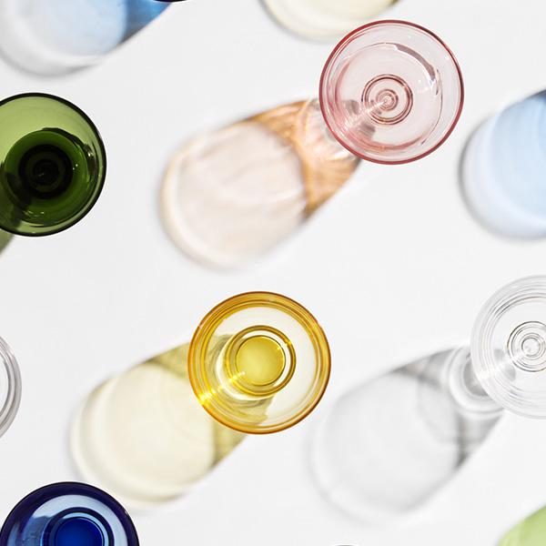FLOW タンブラー 350ml ホルムガード グラス コップ おしゃれ 吹きガラス ギフト プレゼント 高級 来客用 北欧 冷茶 丸い 父の日 フロー HOLMEGAARD