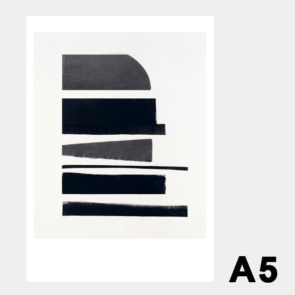 スティルレーベン A5ポスター 148×210mm Pieces ピース メール便 Atelier Cph STILLEBEN モノクロ デンマーク 北欧 インテリア おしゃれ