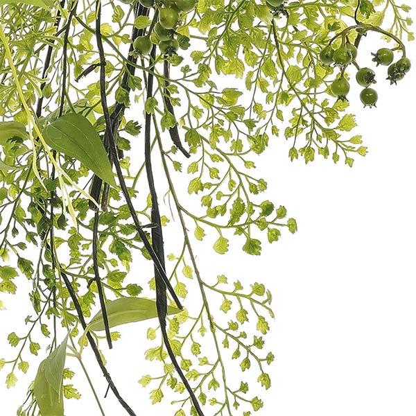 造花 スワッグ フェイクグリーン グリーンミックス スワッグL 玄関飾り アレンジメント 観葉植物 ナチュラル 壁掛け 人気 インテリア PRGR-1189 GREENPARK