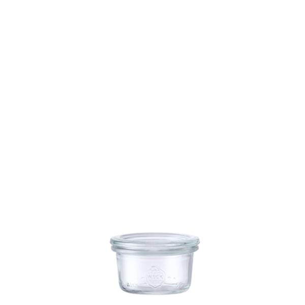 モールド シェイプ 50 ml WE-755 フタSサイズ MOLD SHAPE WECK ウェック キャニスター 保存 容器 耐熱 ガラス 密閉 保存瓶