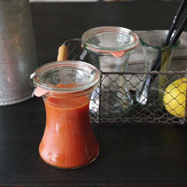 デリカ テッセン 330 ml WE-996 フタMサイズ DELIKA TESSEN WECK ウェック キャニスター 保存 容器 耐熱 ガラス 密閉 保存瓶