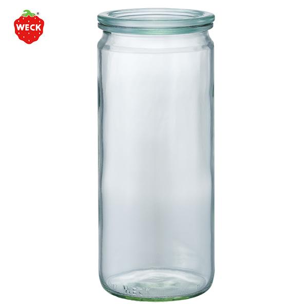 ストレート 1000 ml WE 908 フタMサイズ STRAIGHT WECK ウェック キャニスター 保存 容器 耐熱 ガラス 密閉 保存瓶