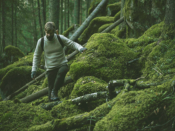 ポスター インテリア 北欧 おしゃれ 木 木製 BADGER アナグマ Teemu Jarvi テーム ヤルヴィ POWFG-BA2 アート おしゃれ 動物 タヌキ かわいい シンプル