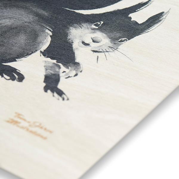 ポスター インテリア 北欧 おしゃれ 木 木製 FLOG カエル Teemu Jarvi テーム ヤルヴィ POWRG-FR2 アート ナチュラル 動物 ナチュラル 動物 かえる 蛙 かわいい