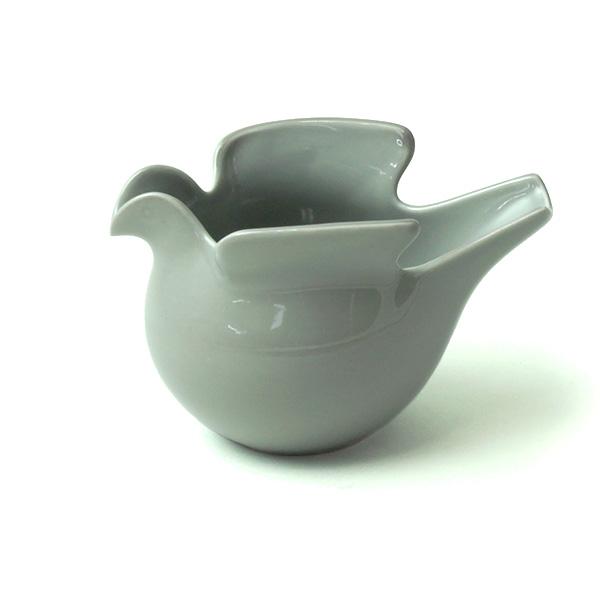 小物入れ 花瓶 おしゃれ 陶器 フラワーベース 鳩 の ポット duva リサラーソン × 波佐見焼 ドゥーバ 西山 インテリア 花器 陶磁器 かわいい ギフト ハト