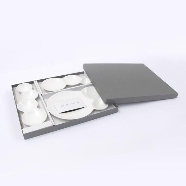 サヴォネ 仕切り皿 セット マット ホワイト マット ブラック savone METAPHYS メタフィス 64023 プレゼント おしゃれ お皿 ギフト 引き出物