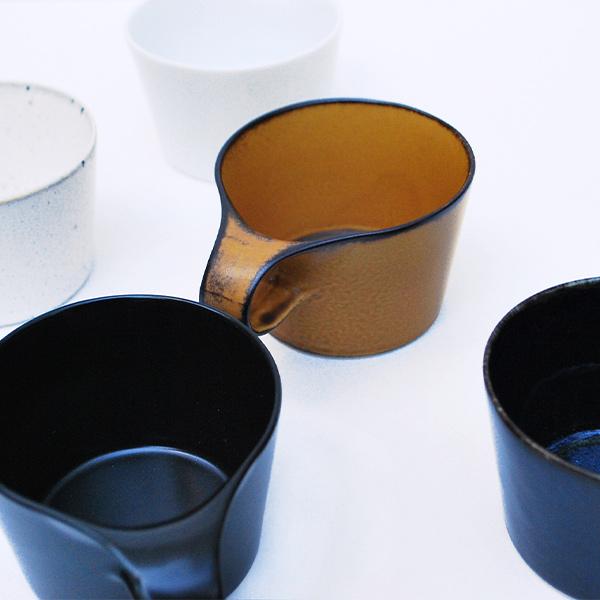 スタッキング ミニ マグカップ ペア セット マグ 重ねる おしゃれ 人気 コーヒーマグ 150cc グロス ホワイト マット ブラック stamug mug mini メタフィス 64050