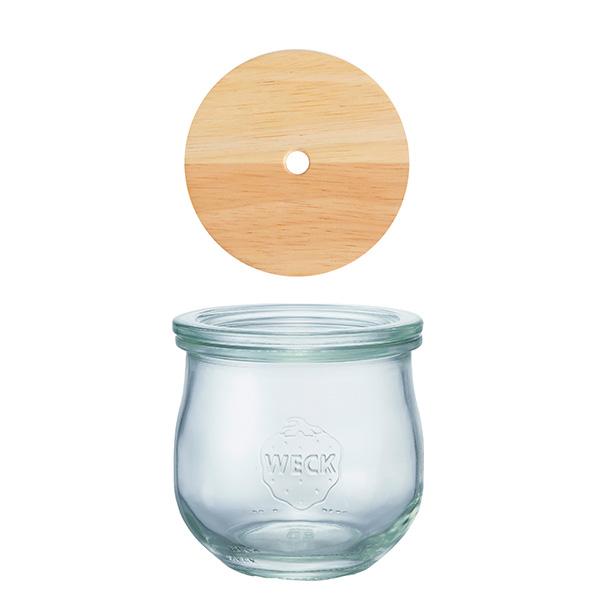ドリンク ボトル チューリップ シェイプ 370ml WW-S105 DRINK BOTTLE TULIP WECKウェック  ガラス コップ タンブラー ドリンク 保存容器 かわいい 入れ物 おしゃれ シンプル いちご