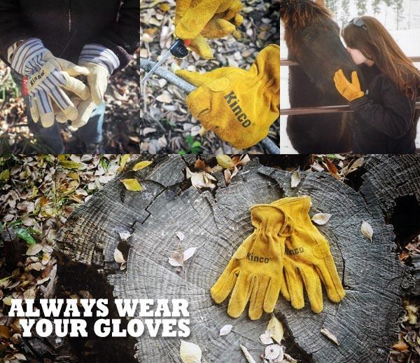 キンコ グローブ キッズ 1927C XXS サイズ 3〜6歳用 子供 防寒 Kinko gloves 革 手袋 作業 裏地 保温 寒冷地用 あったか 雪かき アウトドア