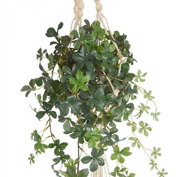 造花 ハンギング フェイクグリーン シュガーバイン マクラメ 人口 観葉植物 吊り下げ グリーン おしゃれ ナチュラル オリーブ PRGR-0820 PRGR-1185 GREENPARK