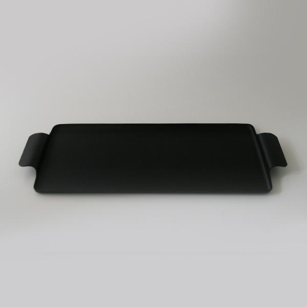 ケイメットトレー トレイ おしゃれ No.713 ブラック KAYMET ケイメット アルミ トレイ 物入れ 小物 収納 鍵置き シンプル アルミ 使いやすい 黒